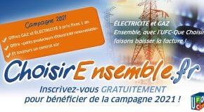 Energie moins chère ensemble2021